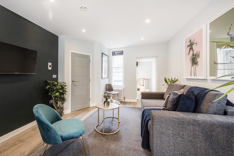 TV at BE: Wardour Street Apartments, Soho, London - Citybase Apartments