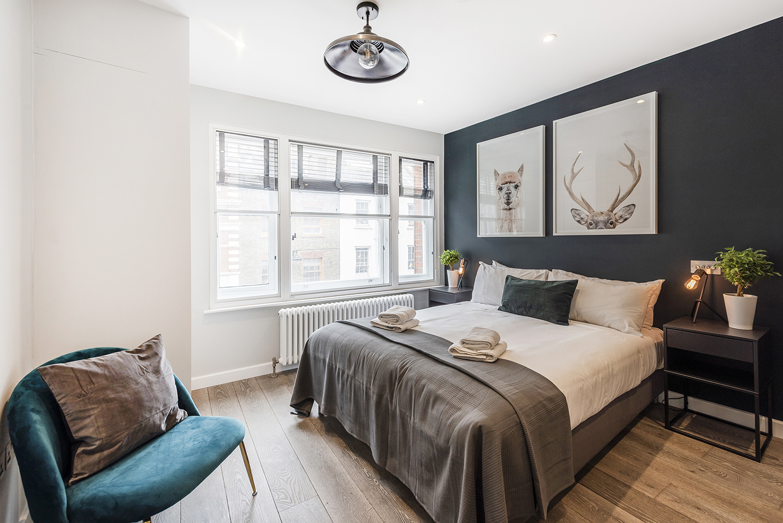 Bed at BE: Wardour Street Apartments, Soho, London - Citybase Apartments