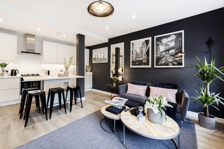 Coffee table at BE: Wardour Street Apartments, Soho, London - Citybase Apartments