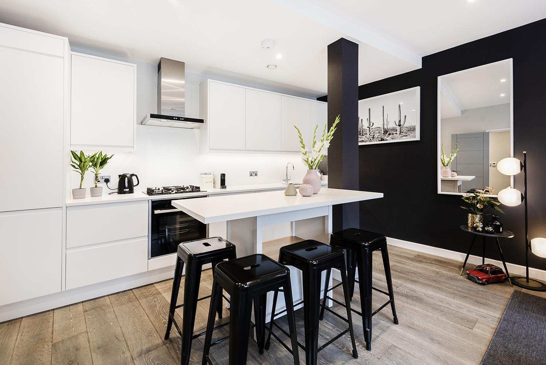 Stools at BE: Wardour Street Apartments, Soho, London - Citybase Apartments