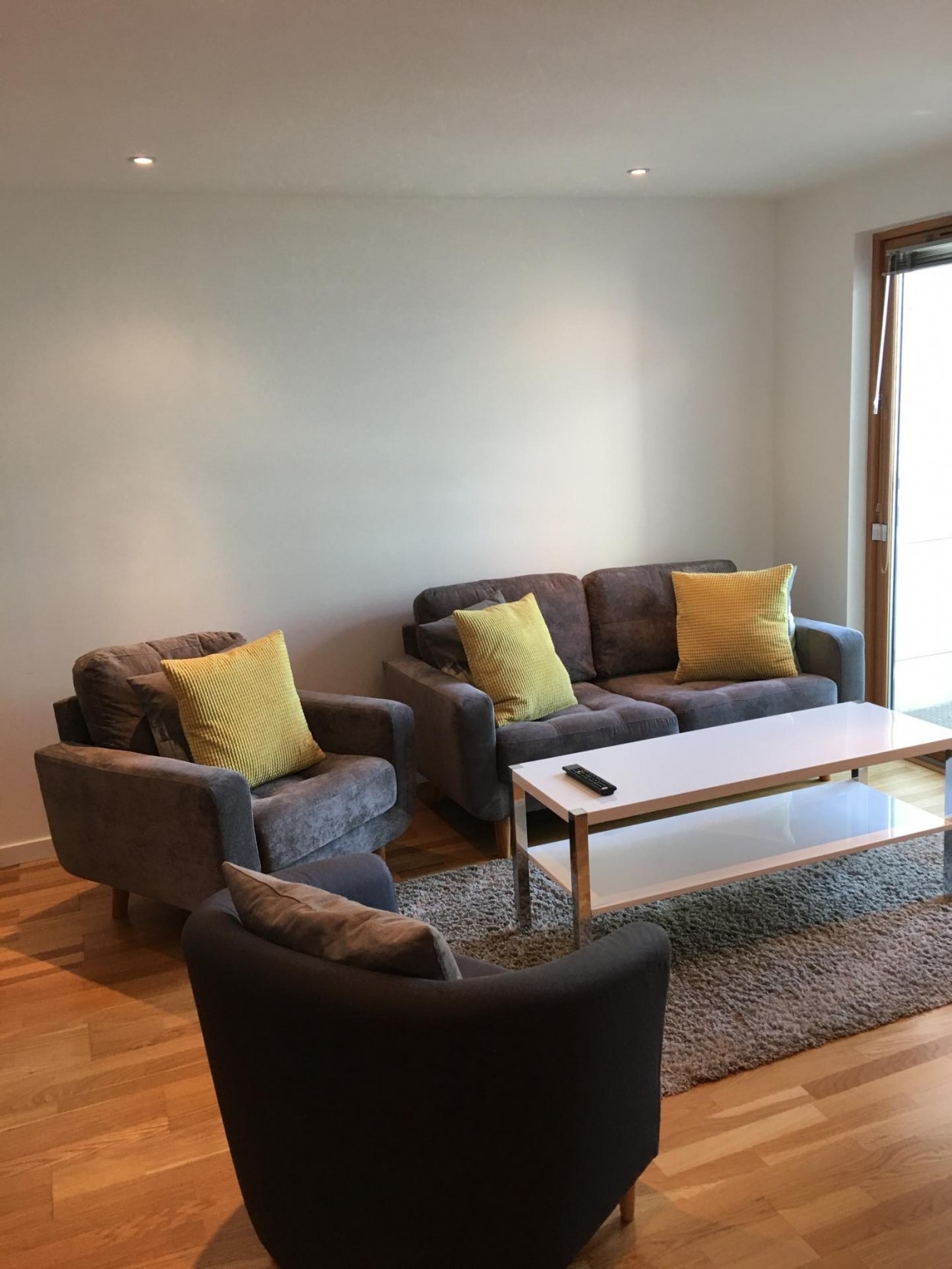 Sofa area at The Gateway Crown Apartments - Citybase Apartments