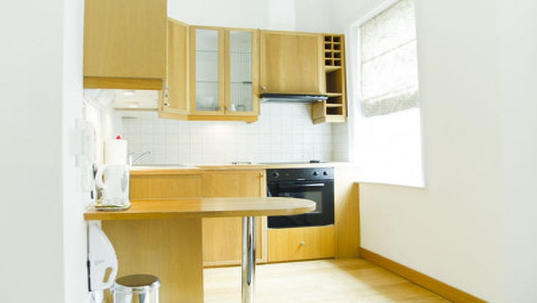 Light kitchen in Cartwright Gardens - Citybase Apartments
