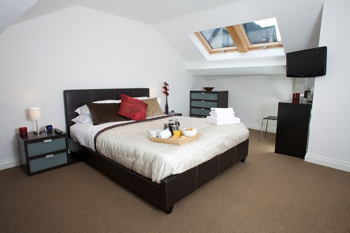 Bedroom at West Mews Apartments - Citybase Apartments