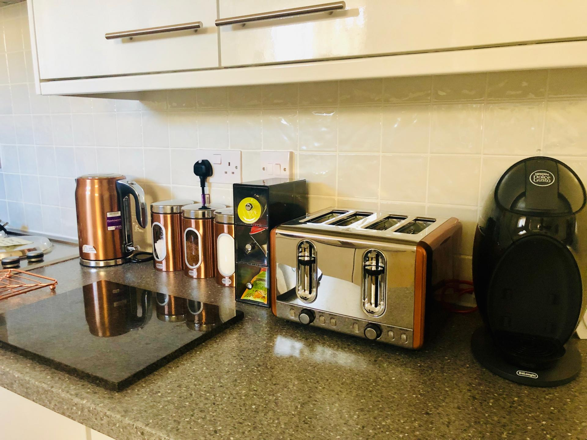 Toaster at The Vinery Apartment - Citybase Apartments