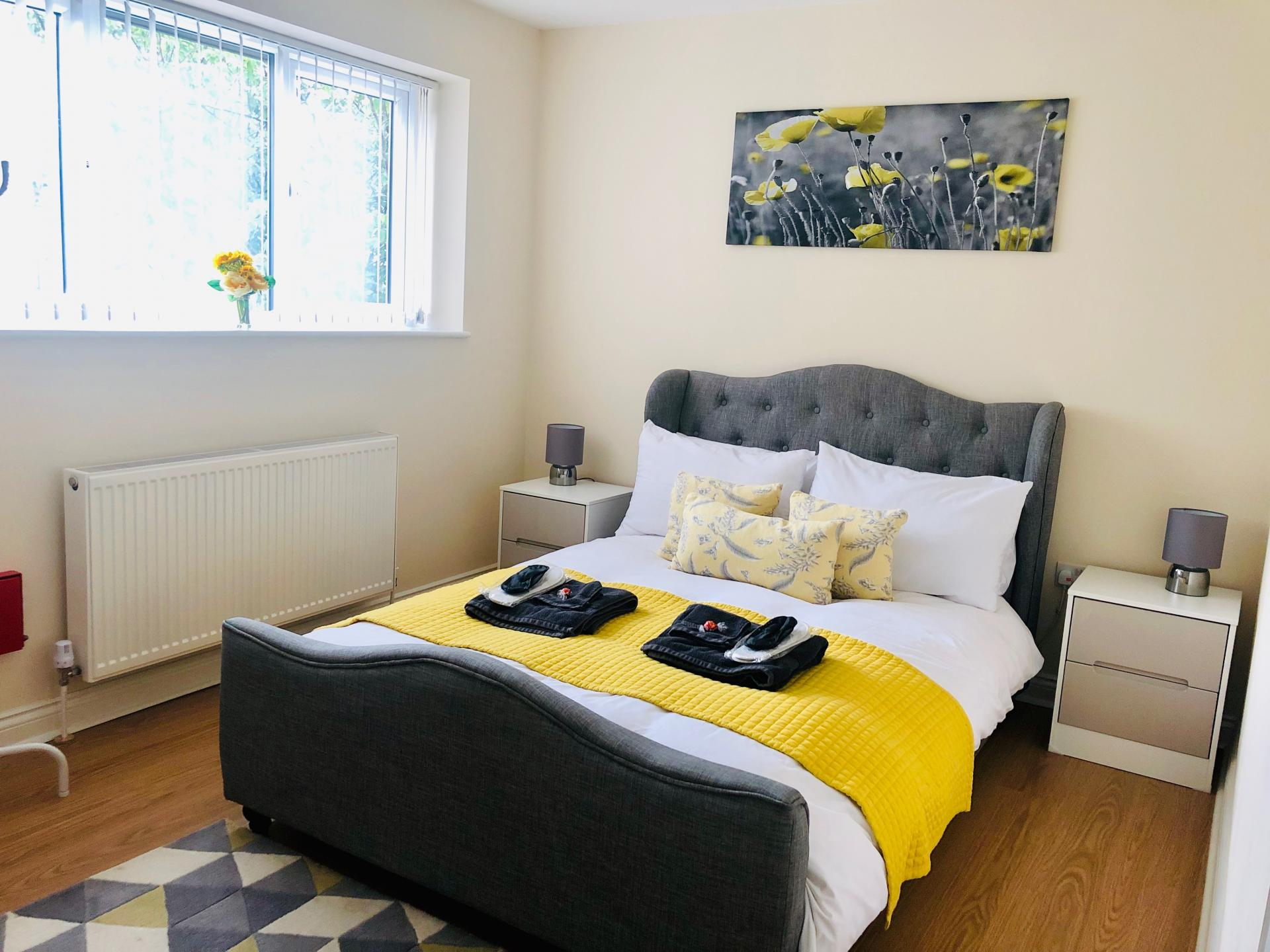 Bedroom at The Vinery Apartment - Citybase Apartments