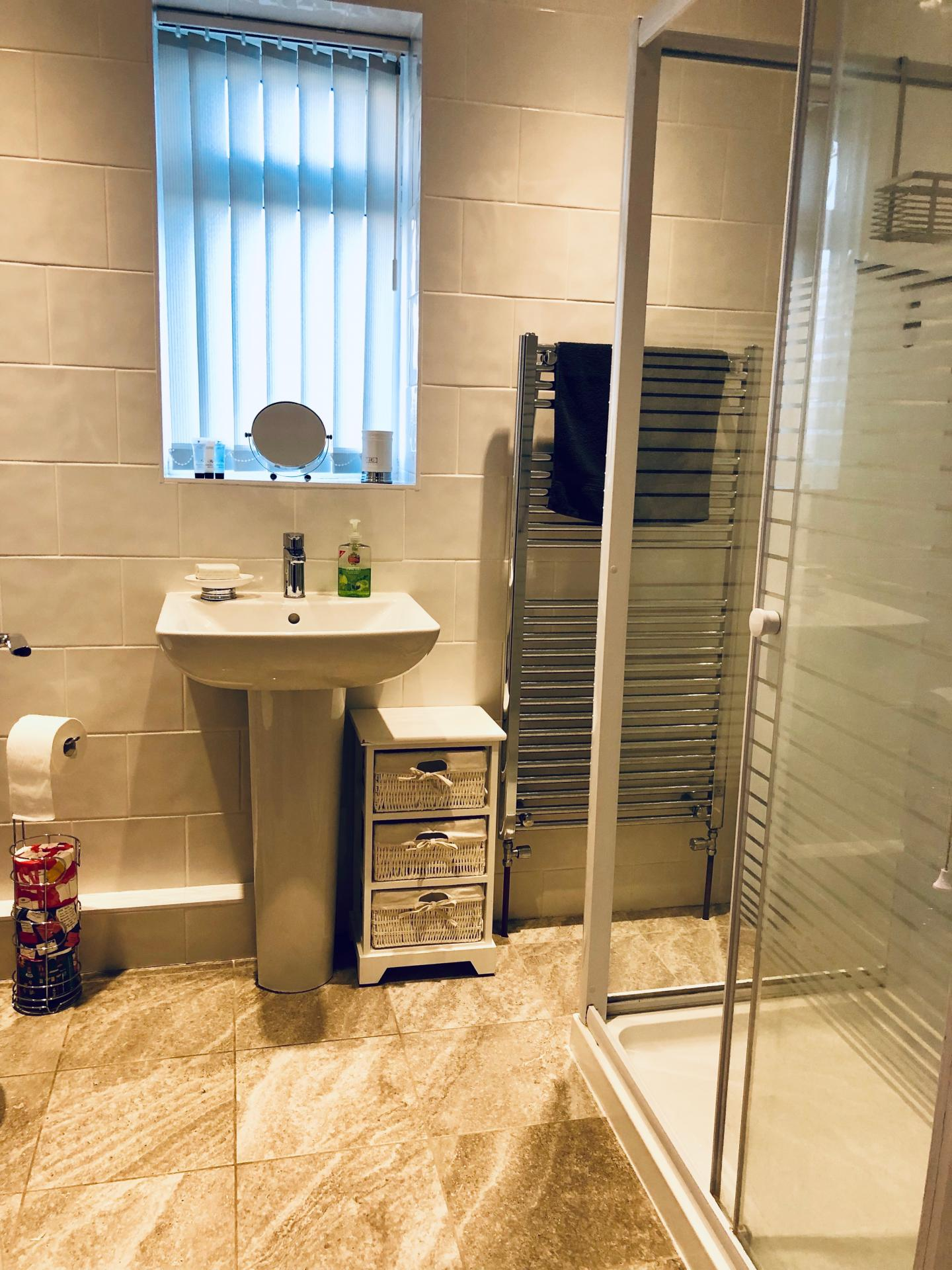 Bathroom at The Vinery Apartment - Citybase Apartments