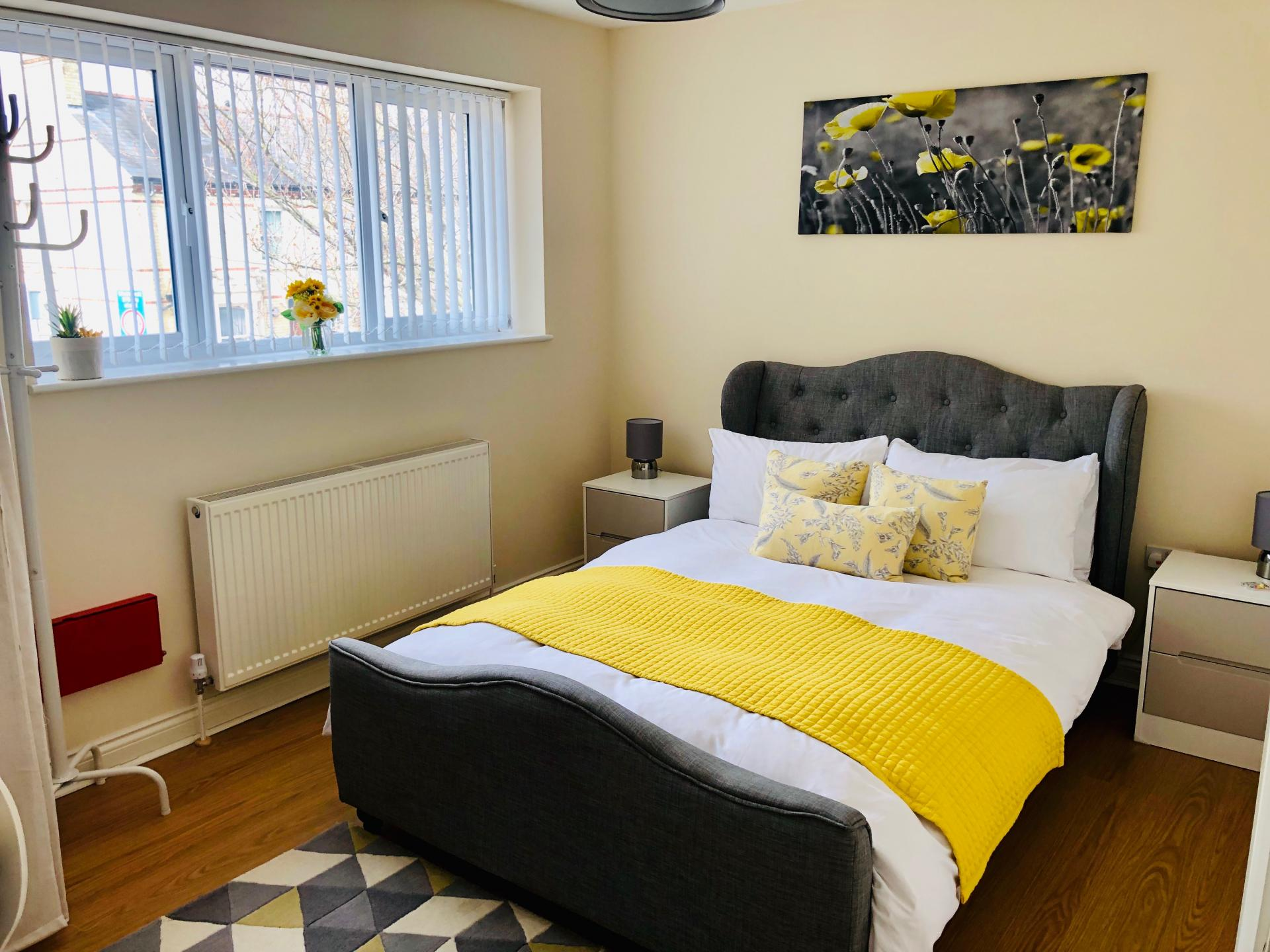 Bed  at The Vinery Apartment - Citybase Apartments