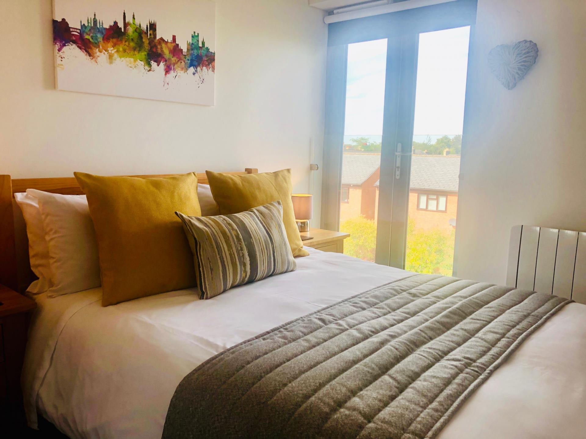 Bedroom at Newmarket Road apartment - Citybase Apartments