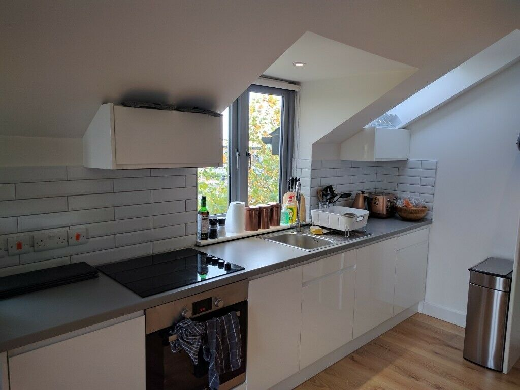 Kitchen at Newmarket Road apartment - Citybase Apartments
