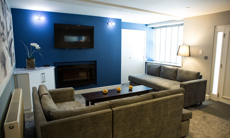 Lounge at The Townhouse Chester, Centre, Chester - Citybase Apartments