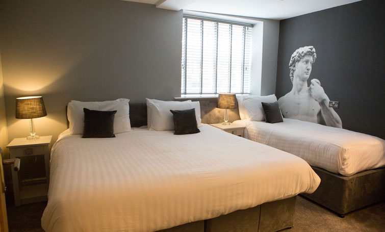 Beds at The Townhouse Chester, Centre, Chester - Citybase Apartments
