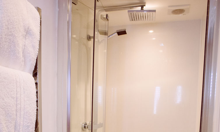 Shower at The Townhouse Chester, Centre, Chester - Citybase Apartments
