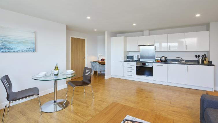 Dining room at the Aparthotel Farnborough - Citybase Apartments