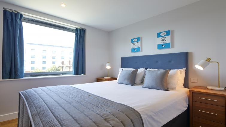 Bedroom at the Aparthotel Farnborough - Citybase Apartments