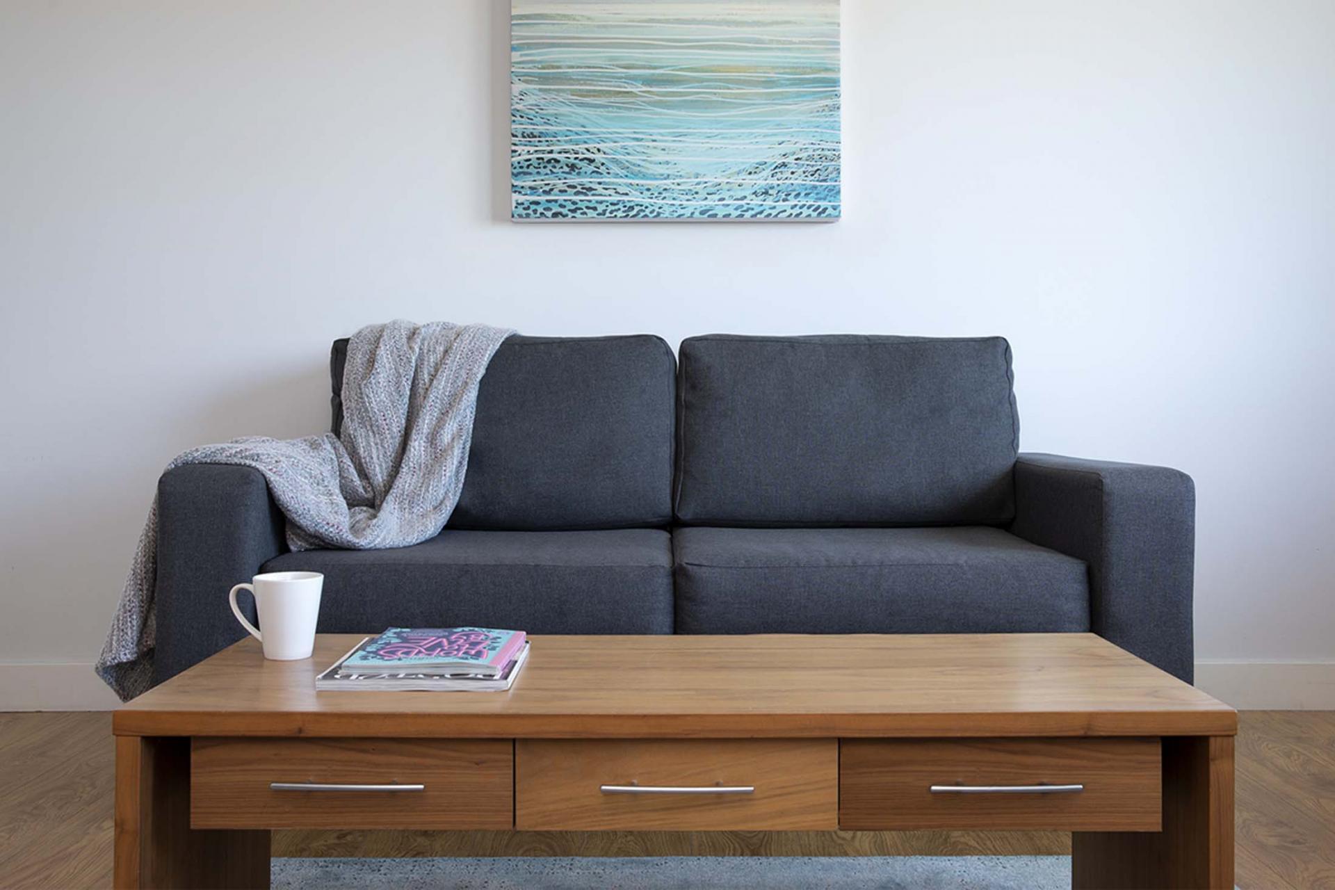 Coffee table at Aparthotel Farnborough - Citybase Apartments