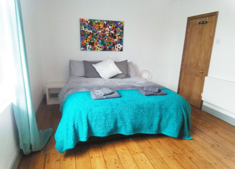 Bedroom at West View Terrace House, Centre, Exeter - Citybase Apartments