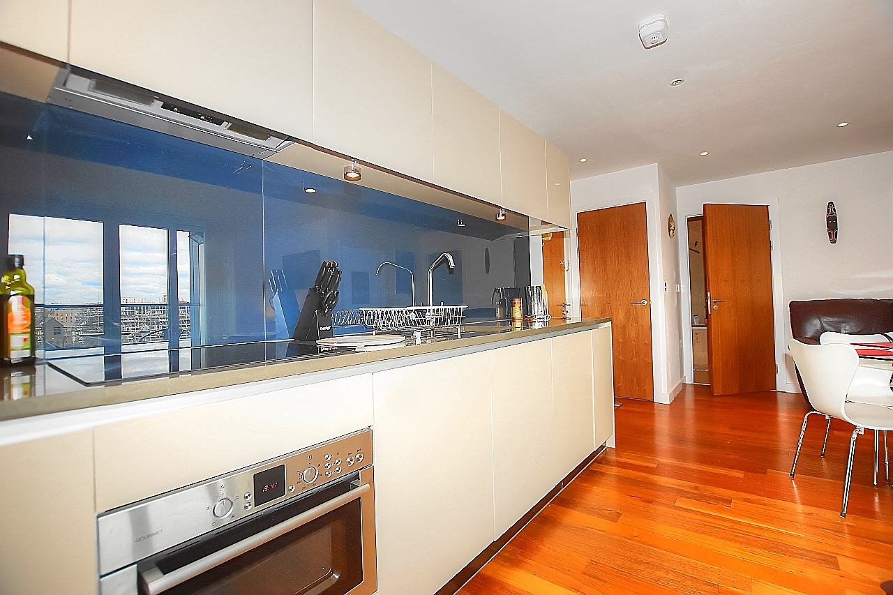 Kitchen at Munday Street Apartment, New Islington, Manchester - Citybase Apartments