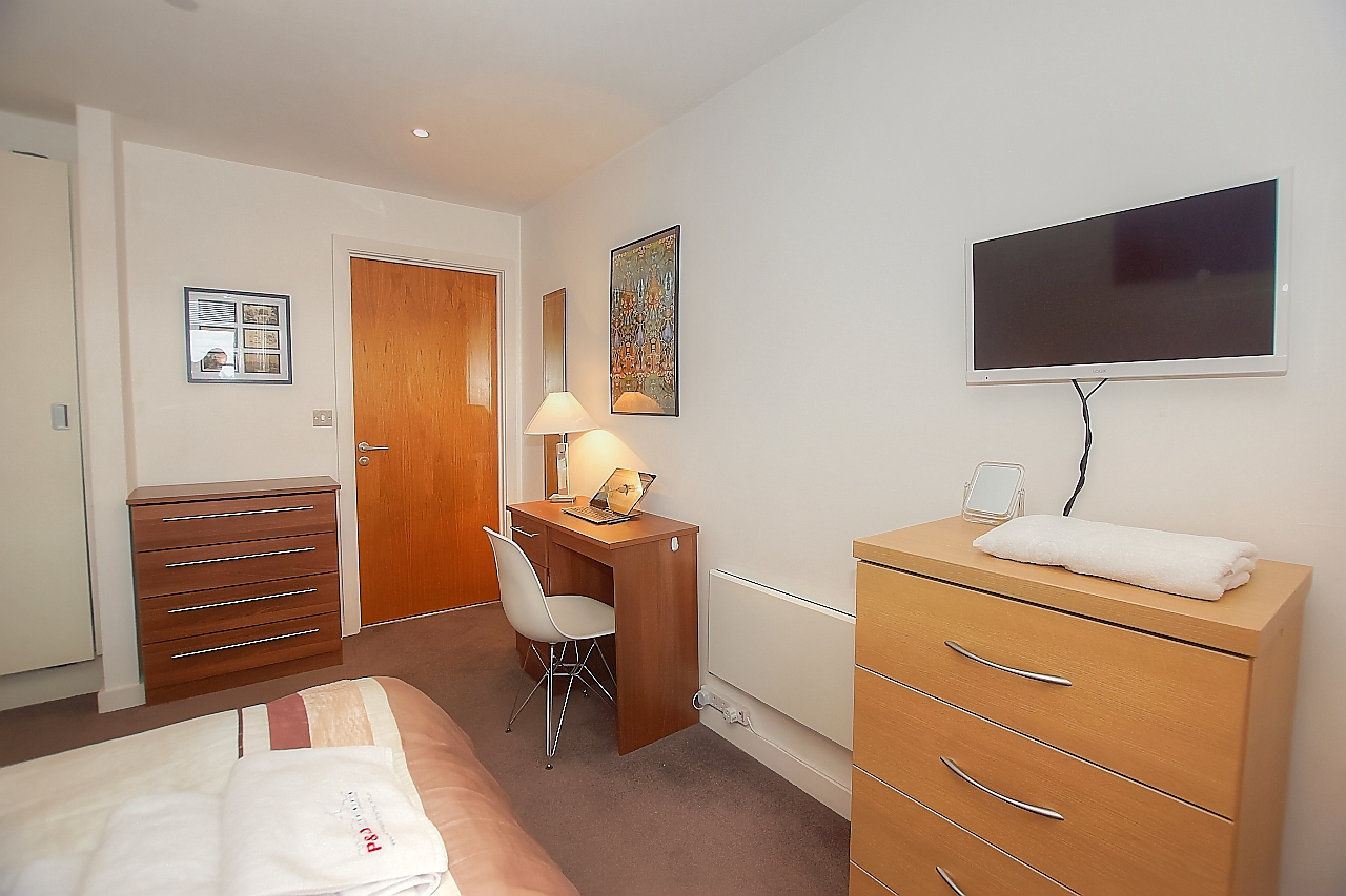 TV at Munday Street Apartment, New Islington, Manchester - Citybase Apartments