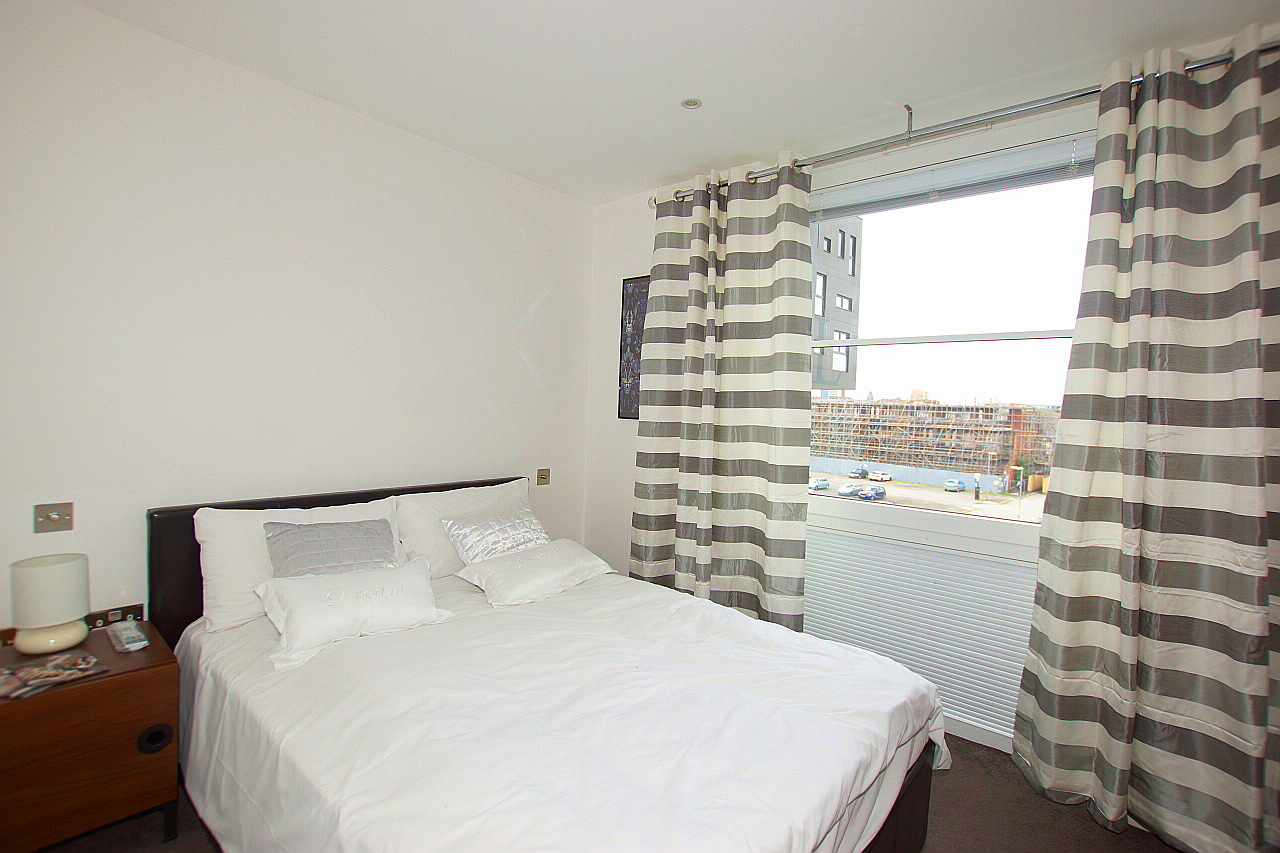 Bedroom at Munday Street Apartment, New Islington, Manchester - Citybase Apartments