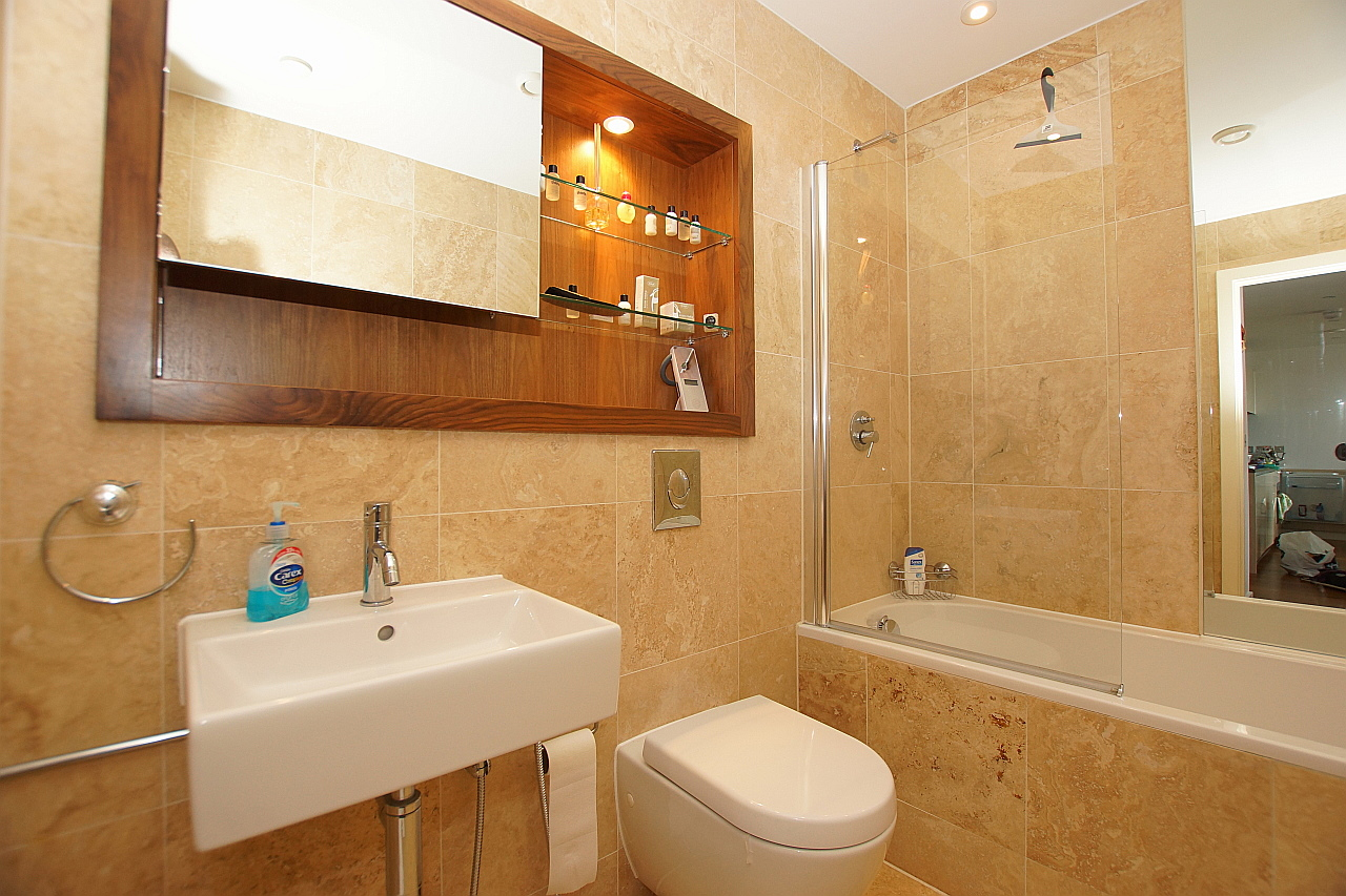 Bathroom at Munday Street Apartment, New Islington, Manchester - Citybase Apartments
