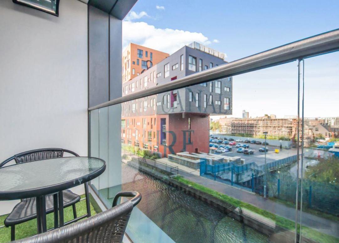 Balcony at Munday Street Apartment, New Islington, Manchester - Citybase Apartments