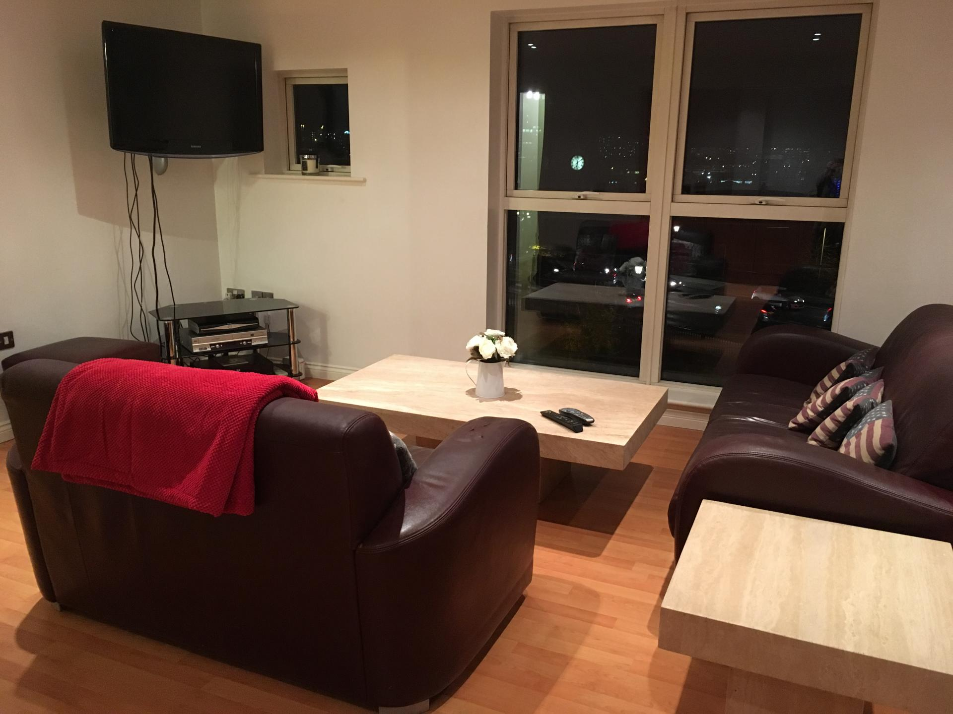 TV at Curzon Place Apartments, Quayside, Newcastle - Citybase Apartments