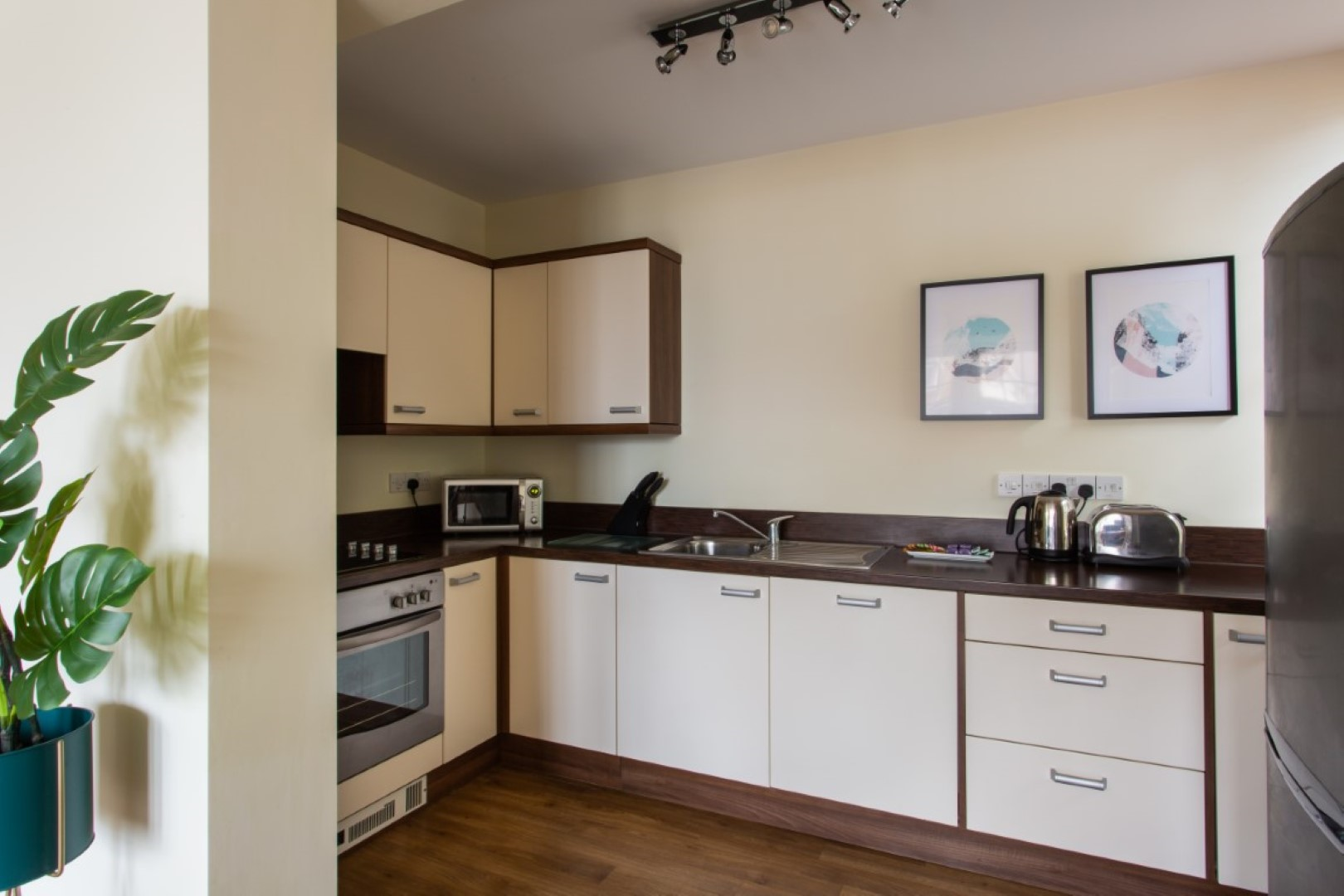 Modern kitchen at Exchange Buildings Apartments, Centre, Bournemouth - Citybase Apartments
