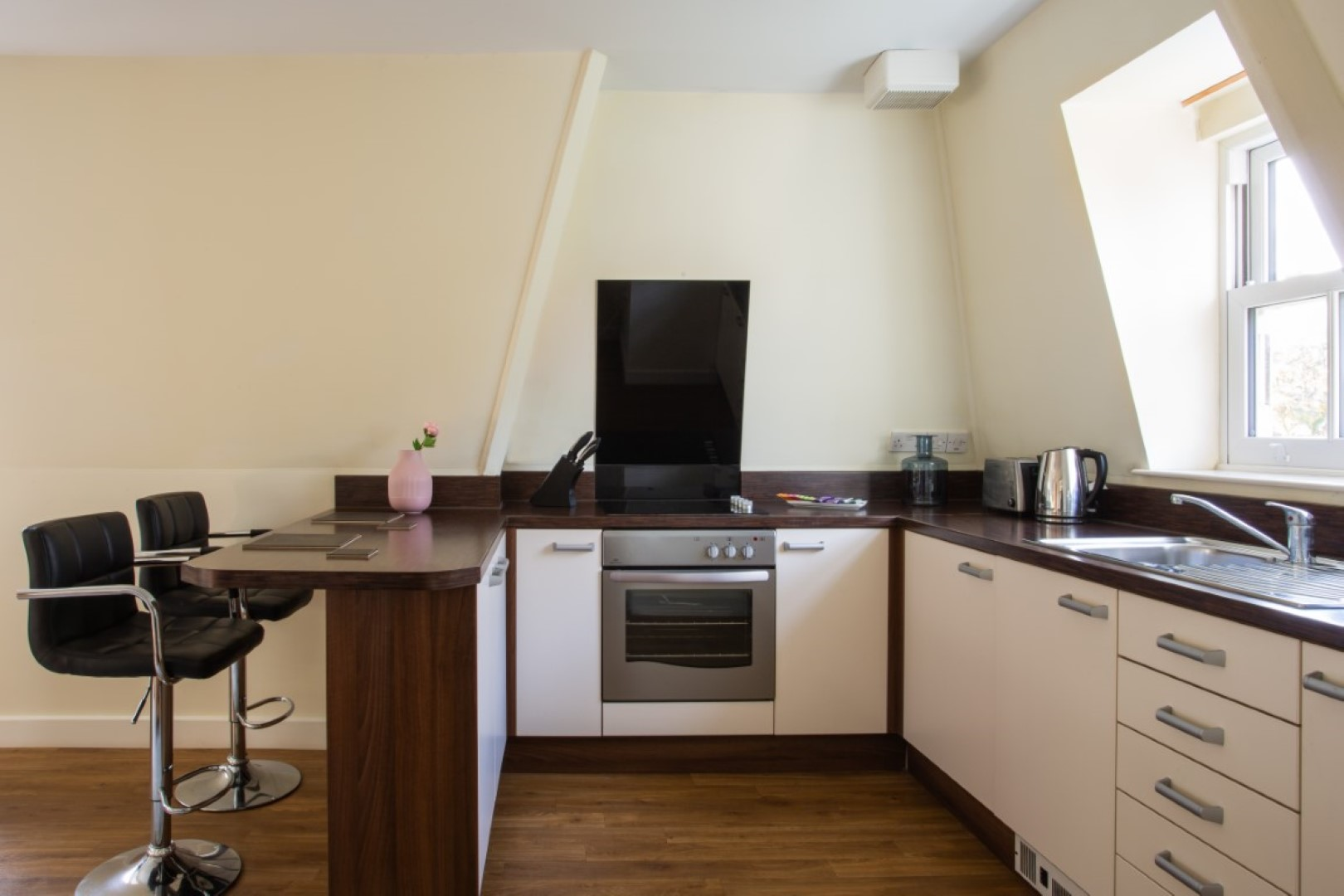 Breakfast bar at Exchange Buildings Apartments, Centre, Bournemouth - Citybase Apartments