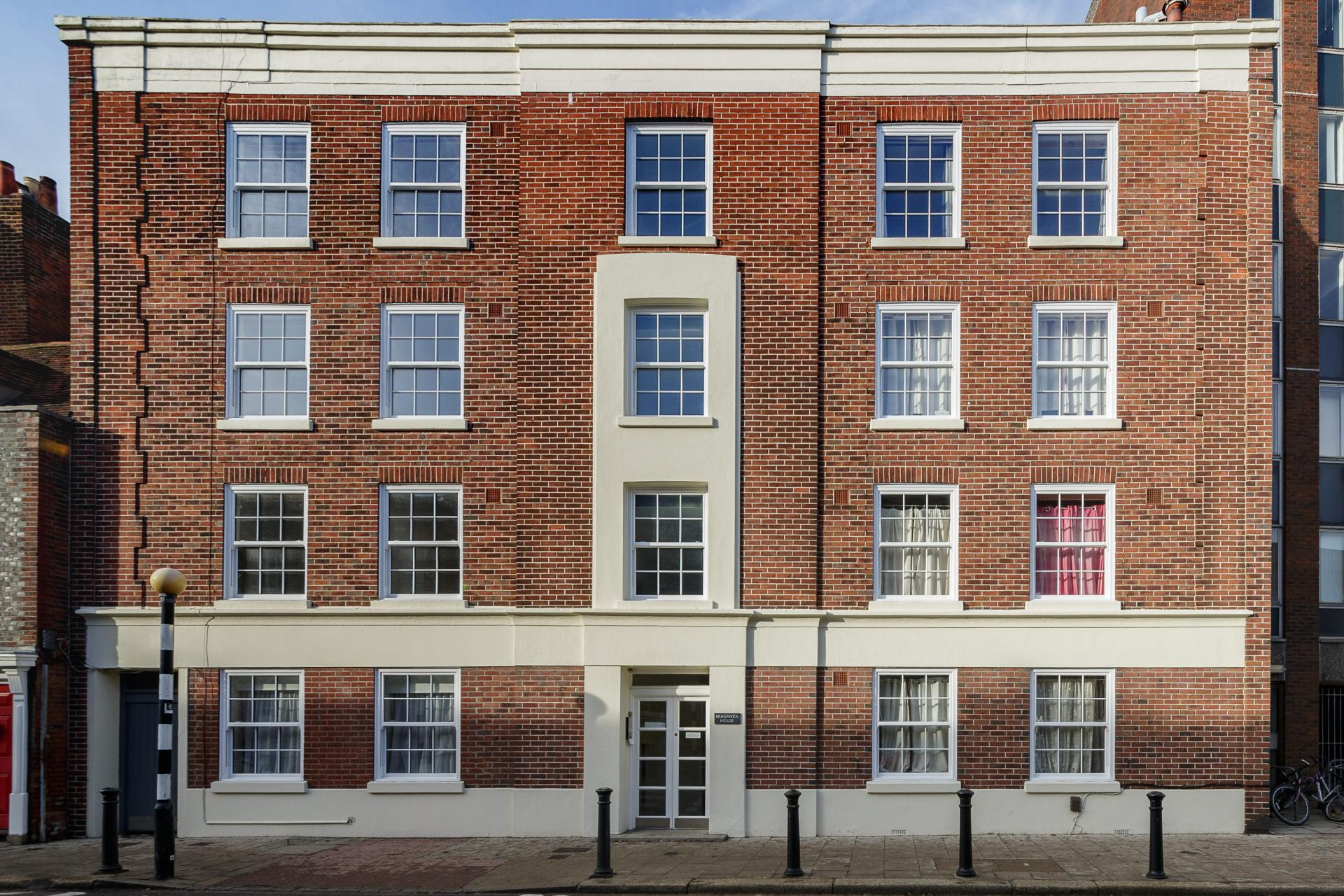 Exterior of Braganza House Apartments, Old Portsmouth, Portsmouth - Citybase Apartments