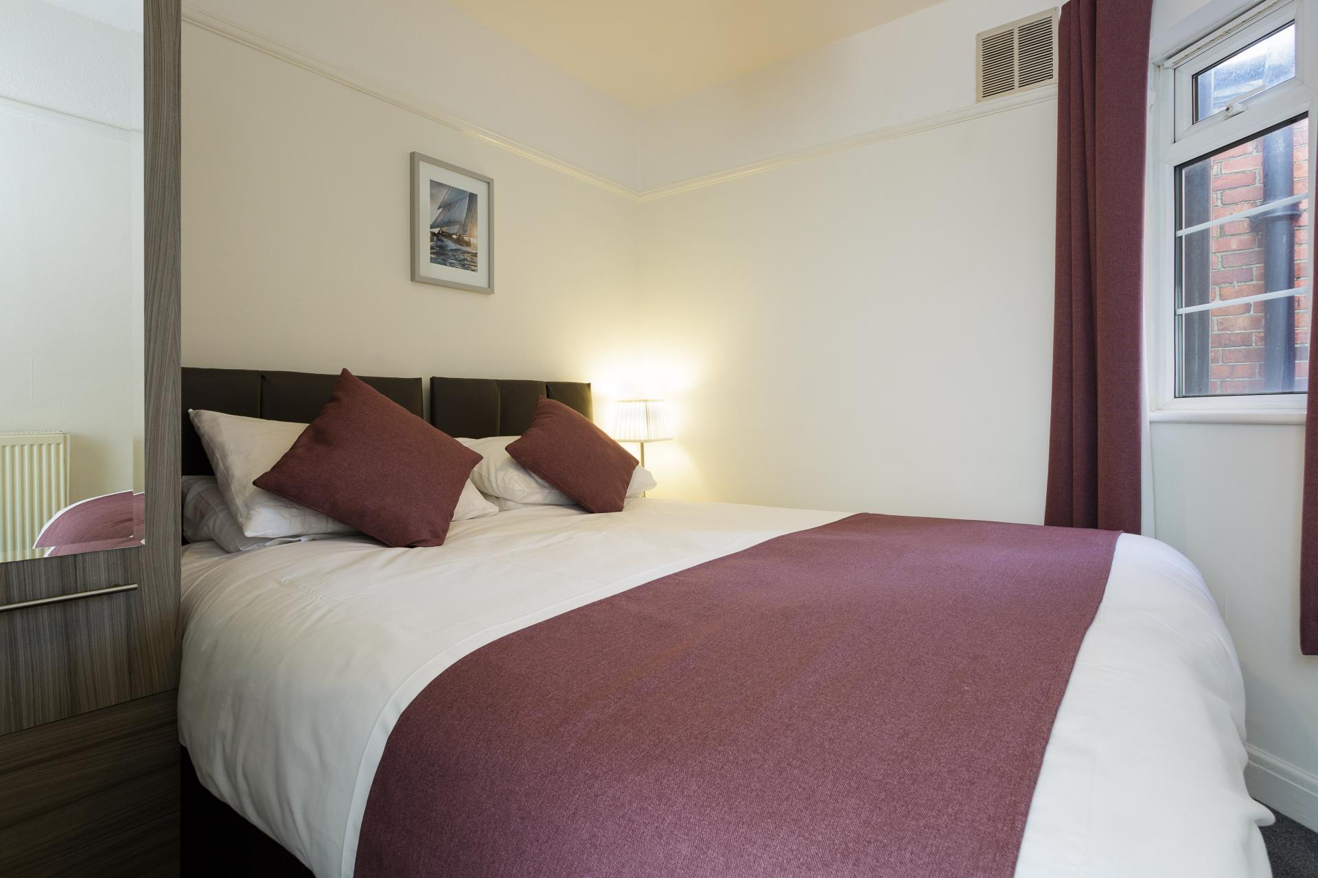 Bedroom at Braganza House Apartments, Old Portsmouth, Portsmouth - Citybase Apartments
