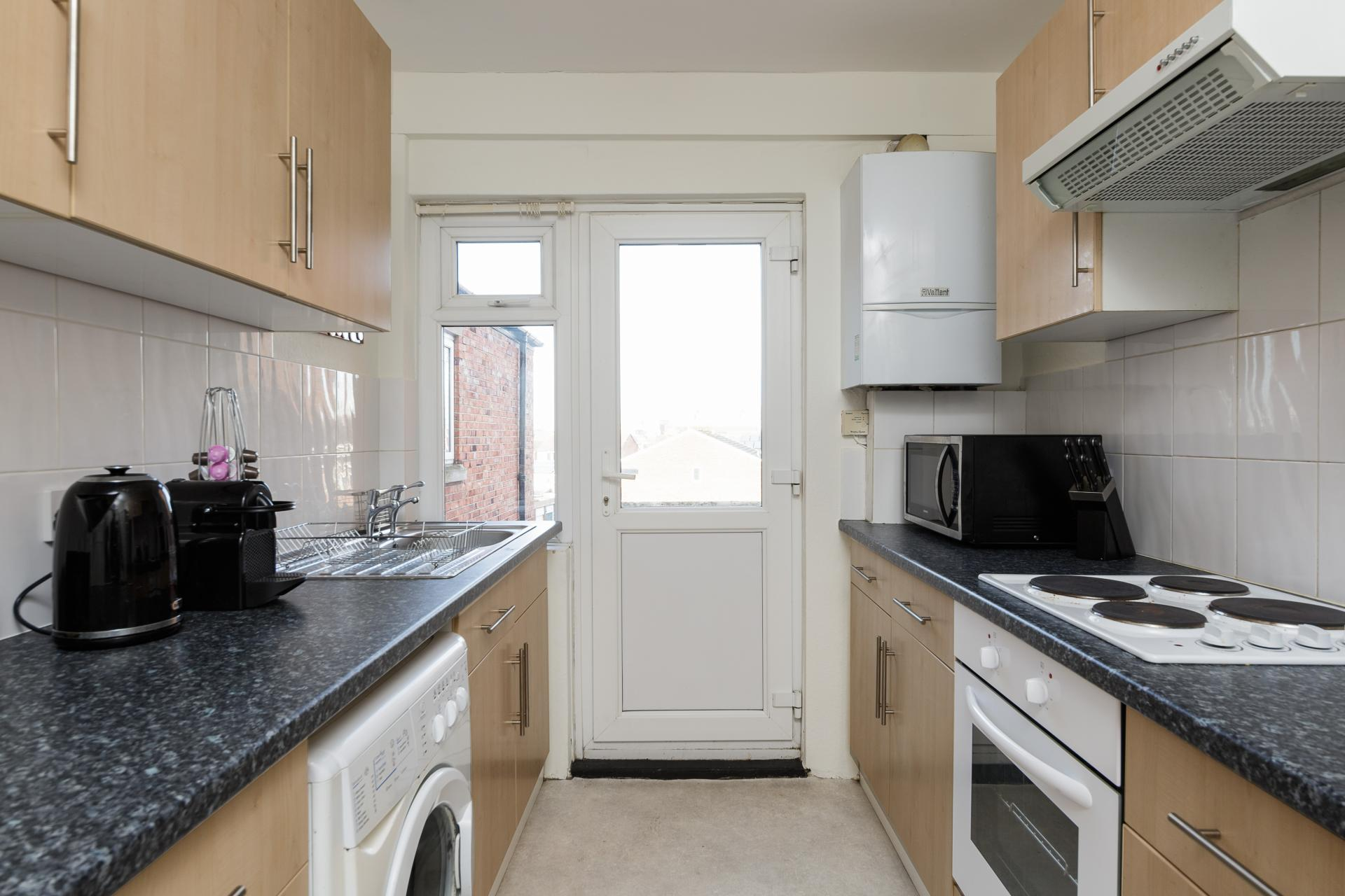 Kitchen at Braganza House Apartments, Old Portsmouth, Portsmouth - Citybase Apartments