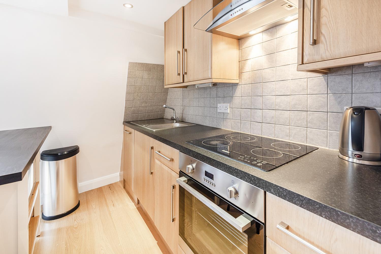 Kitchen at Percy Street Apartment - Citybase Apartments