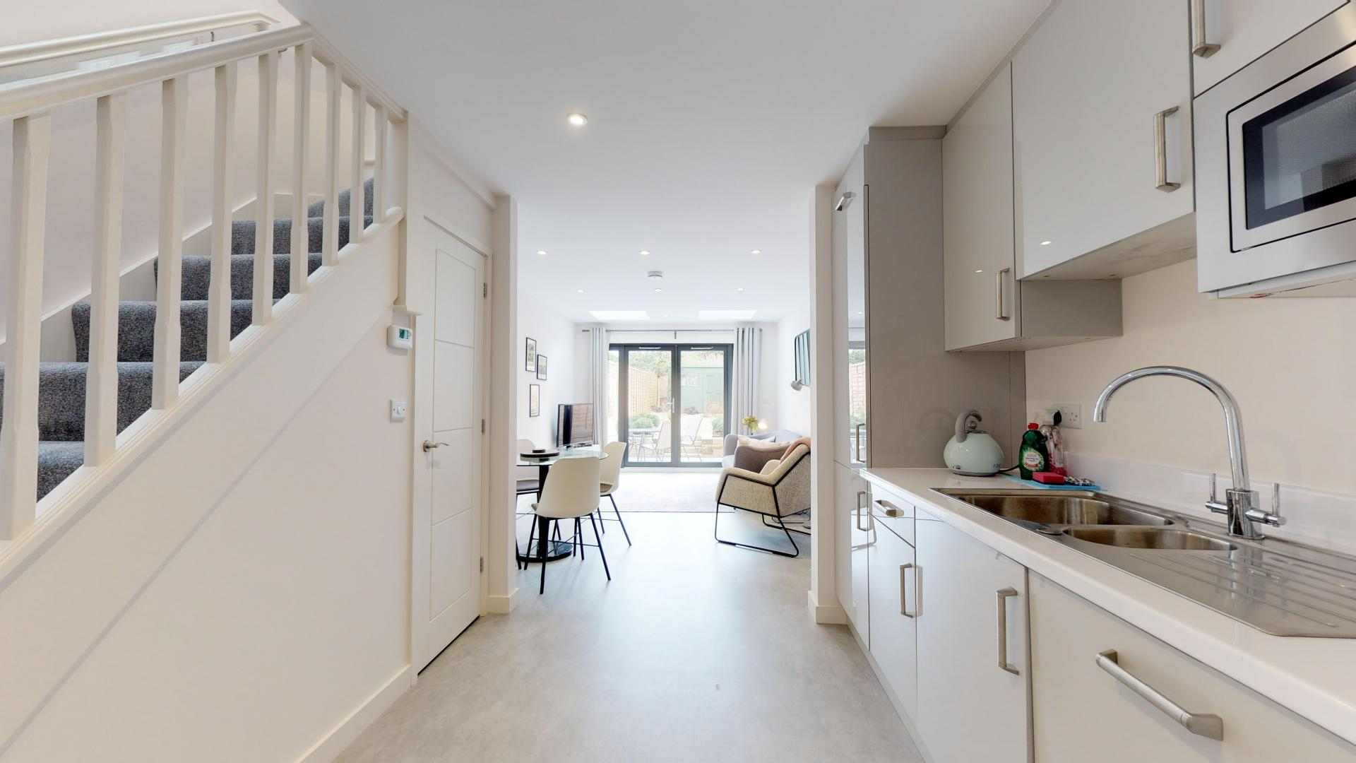 Kitchen at Rogers Street House, Summertown, Oxford - Citybase Apartments