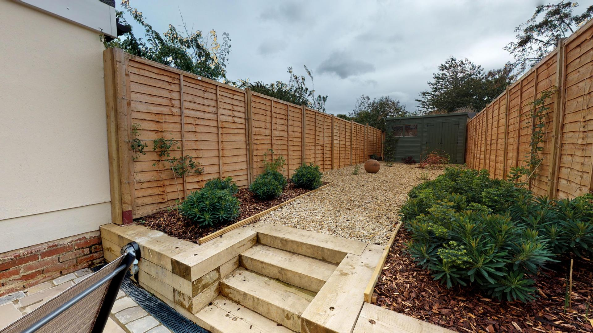 Garden at Rogers Street House, Summertown, Oxford - Citybase Apartments