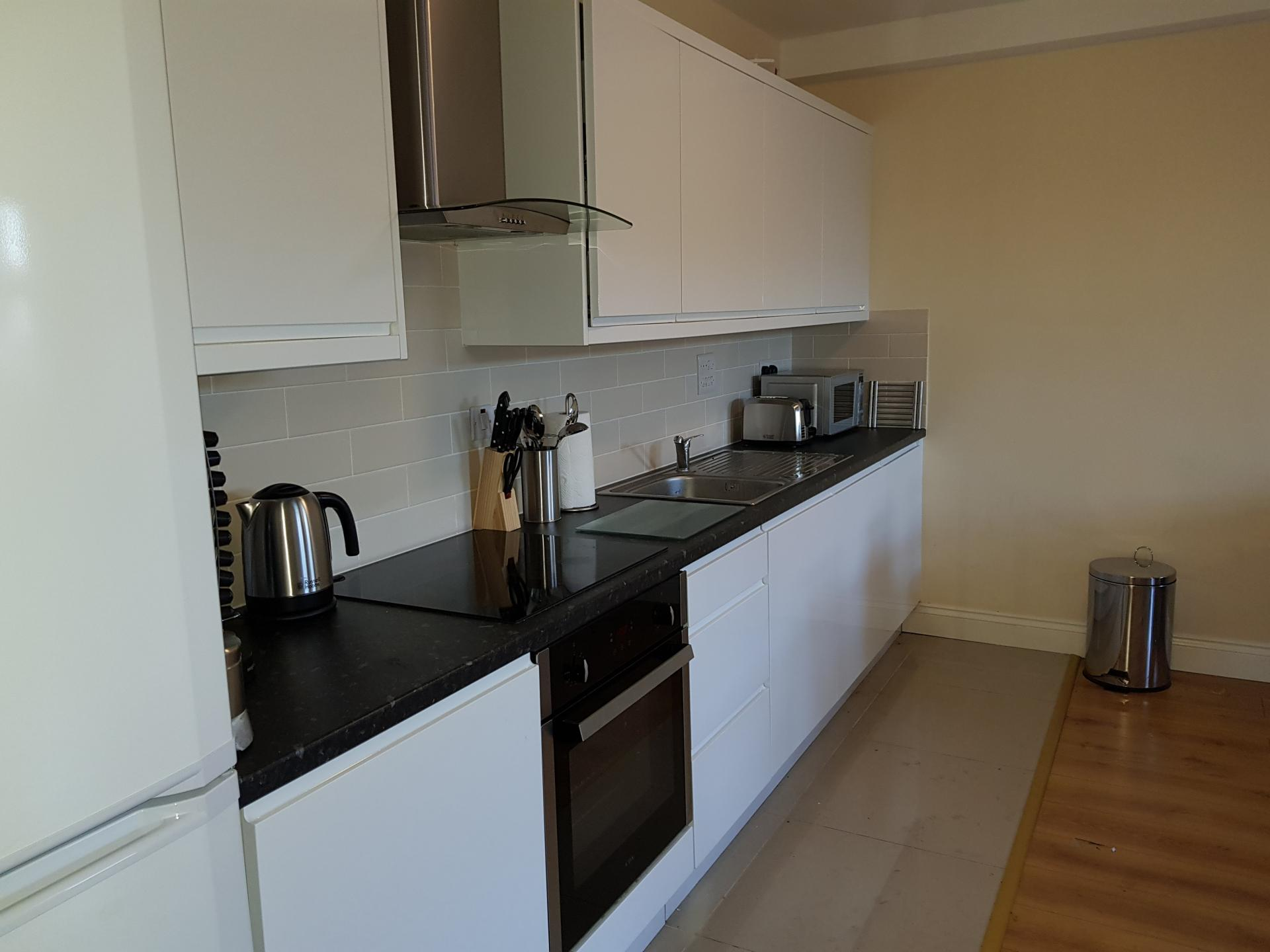 Kitchen at Victory House Apartments, Shirley, Southampton - Citybase Apartments