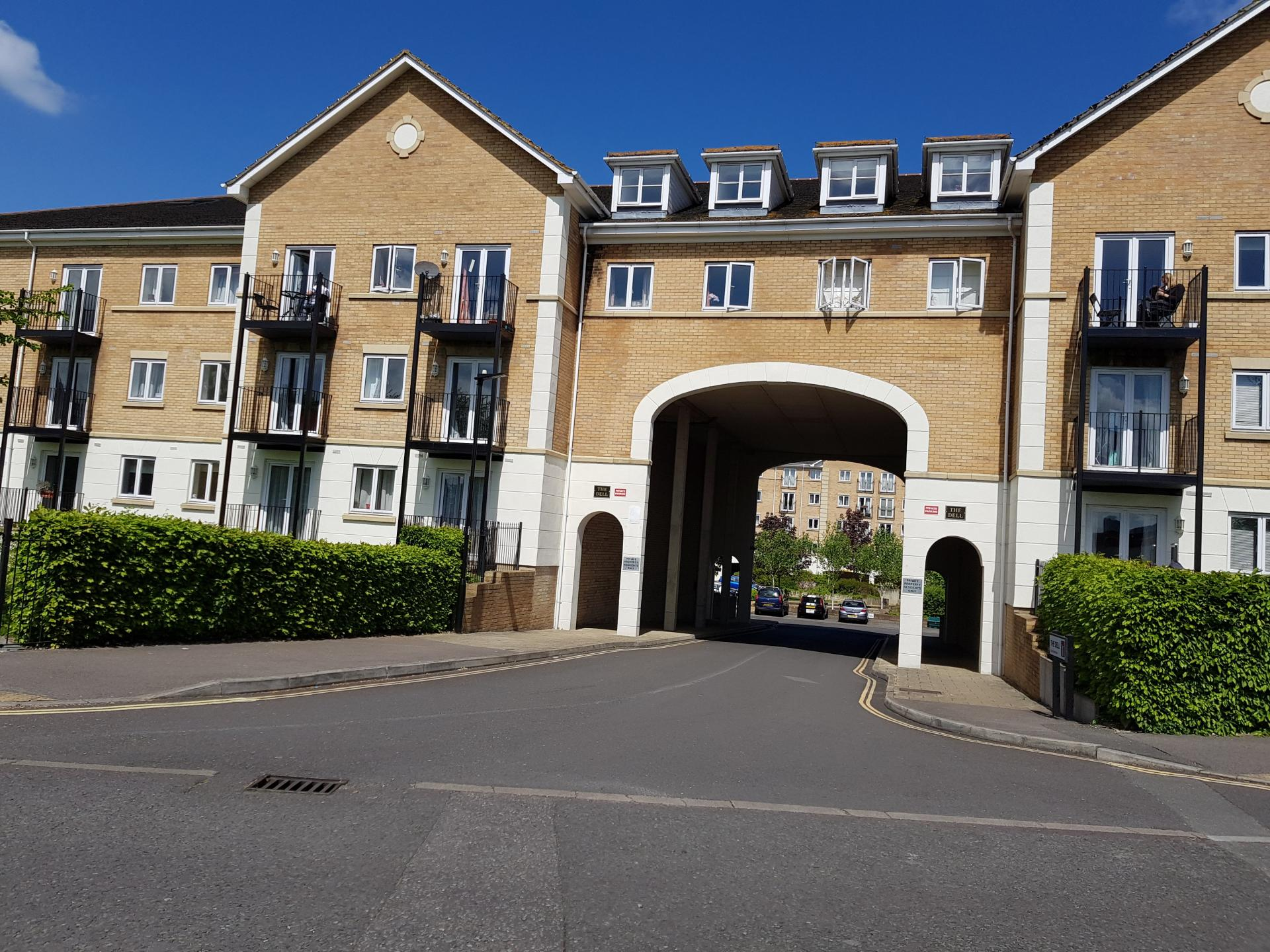 Exterior at Le Tissier Court Apartment, The Polygon, Southampton - Citybase Apartments
