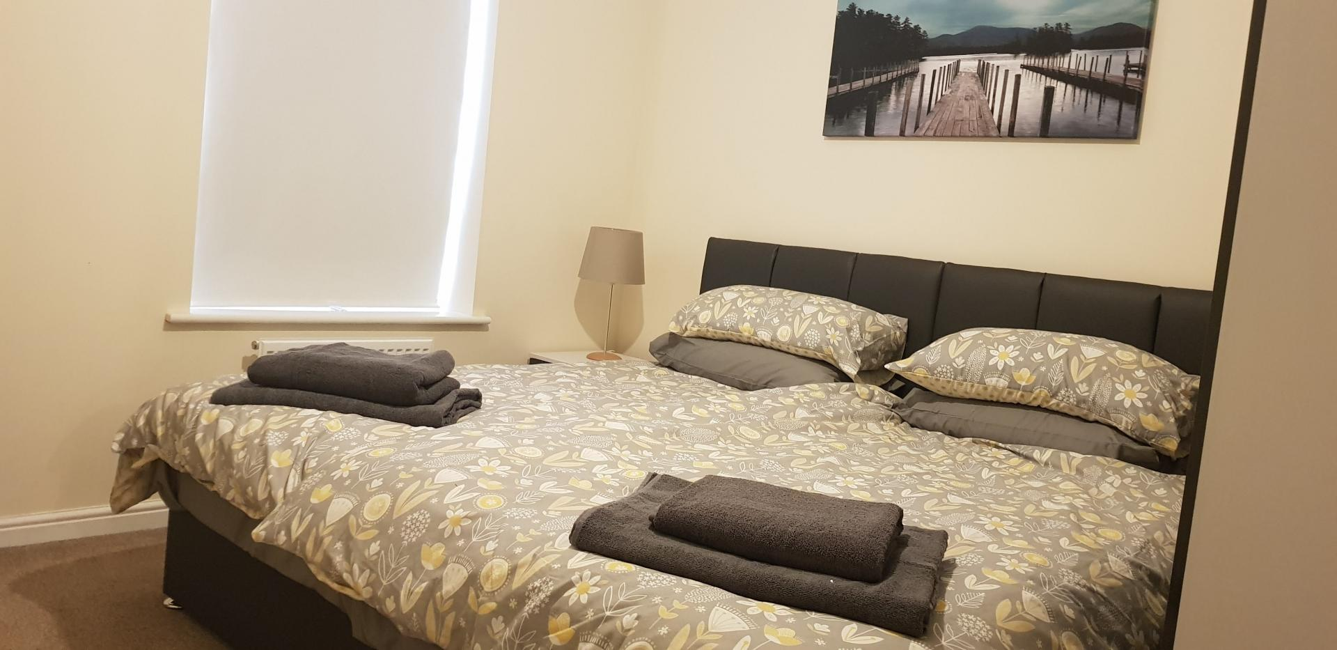 Towels at Moore Close Apartment, Inner Avenue, Southampton - Citybase Apartments
