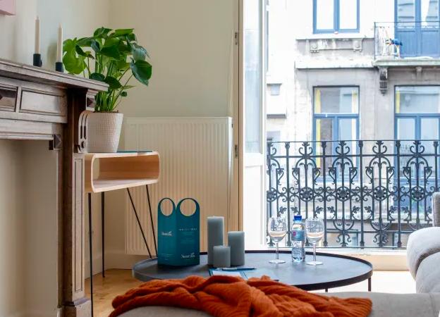 Table at Dansaert Apartments, Centre, Brussels - Citybase Apartments