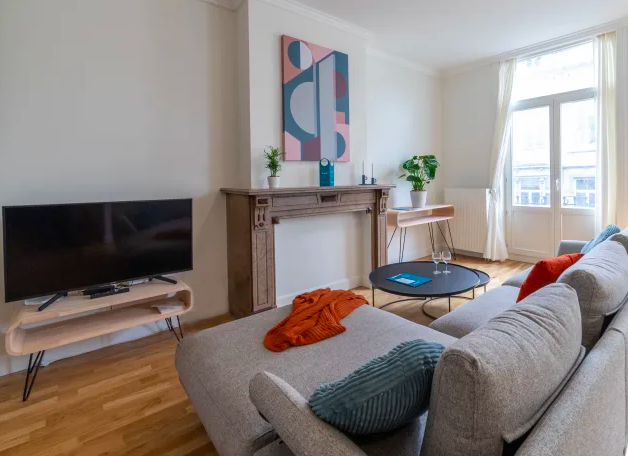 TV at Dansaert Apartments, Centre, Brussels - Citybase Apartments