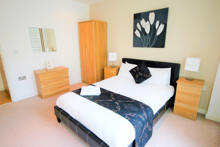 Bedroom at Quayside Loft Apartments - Citybase Apartments
