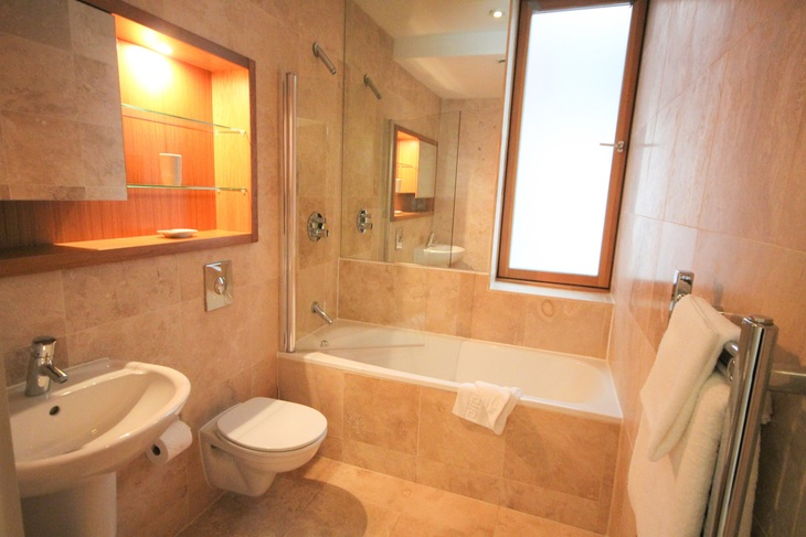 Bathroom at Quayside Loft Apartments - Citybase Apartments
