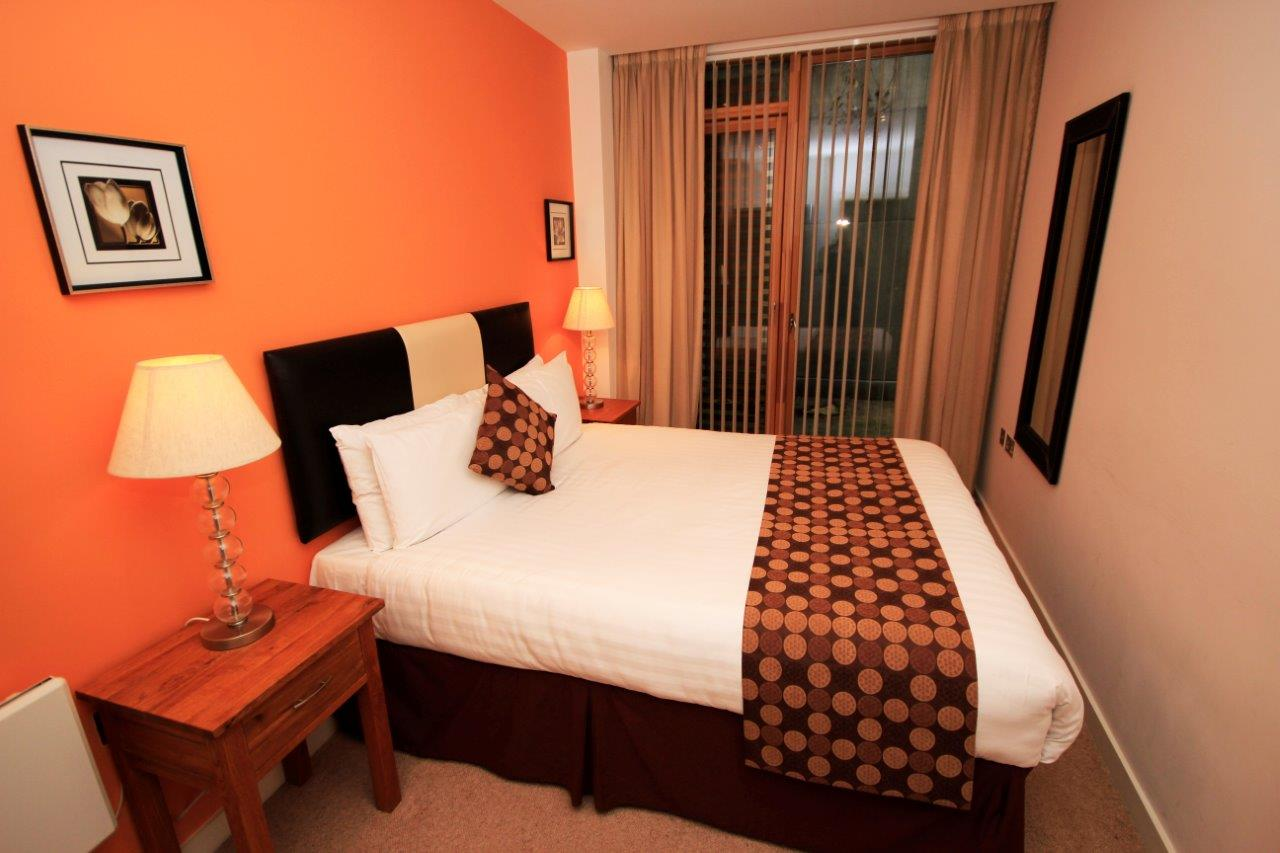 Bed at Quayside Loft Apartments - Citybase Apartments