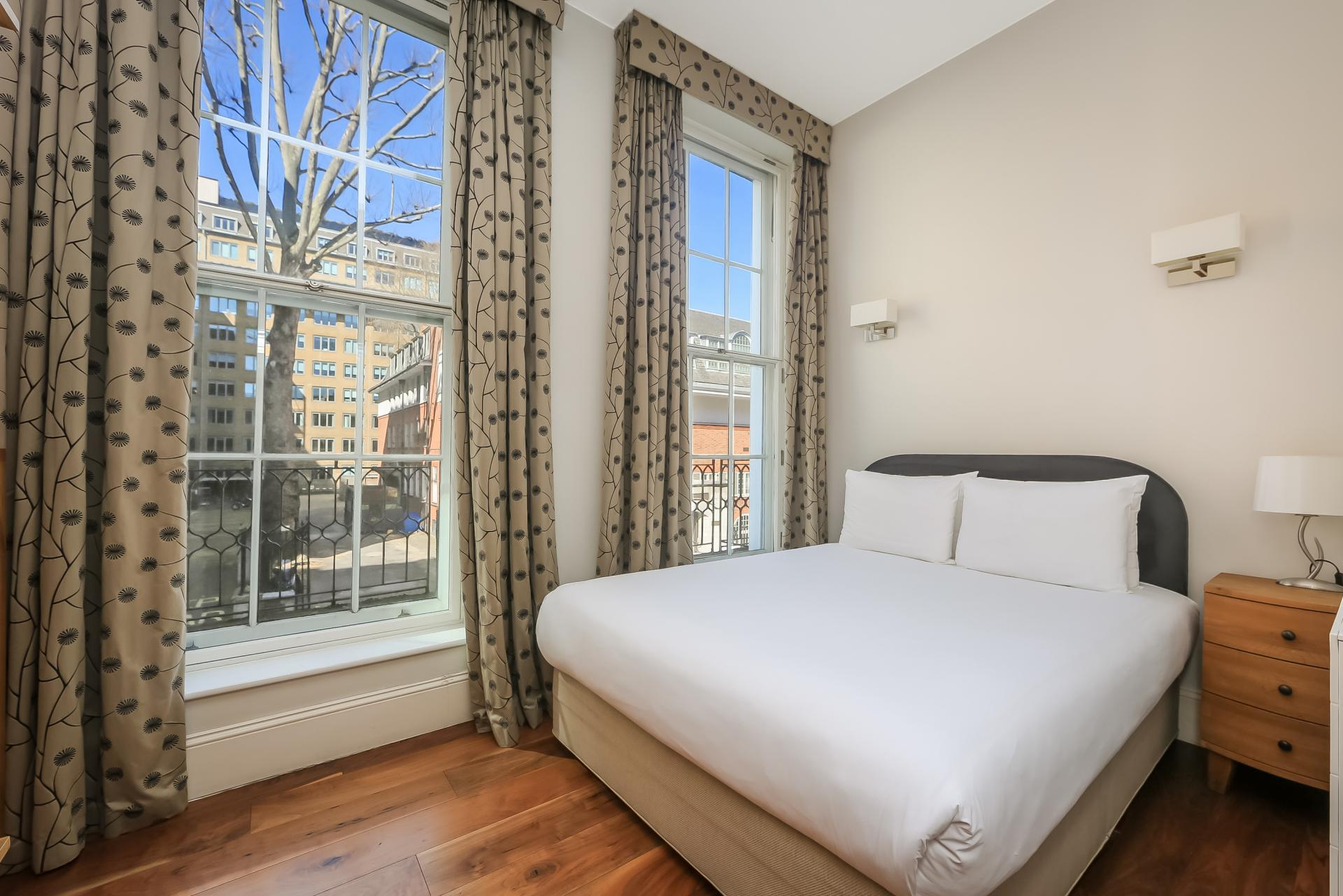 Bedroom at Tavistock Place Apartments - Citybase Apartments