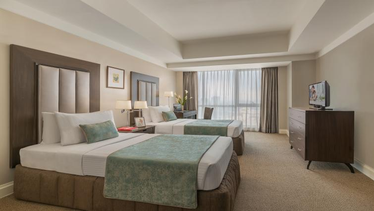 Bedroom at Somerset Millennium Apartments - Citybase Apartments