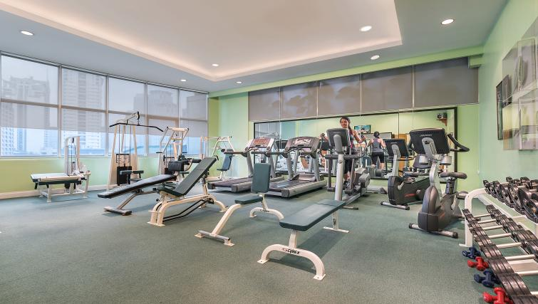 Fitness centre at Somerset Millennium Apartments - Citybase Apartments