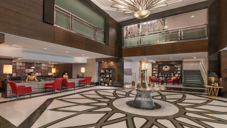 Lobby at Somerset Millennium Apartments - Citybase Apartments
