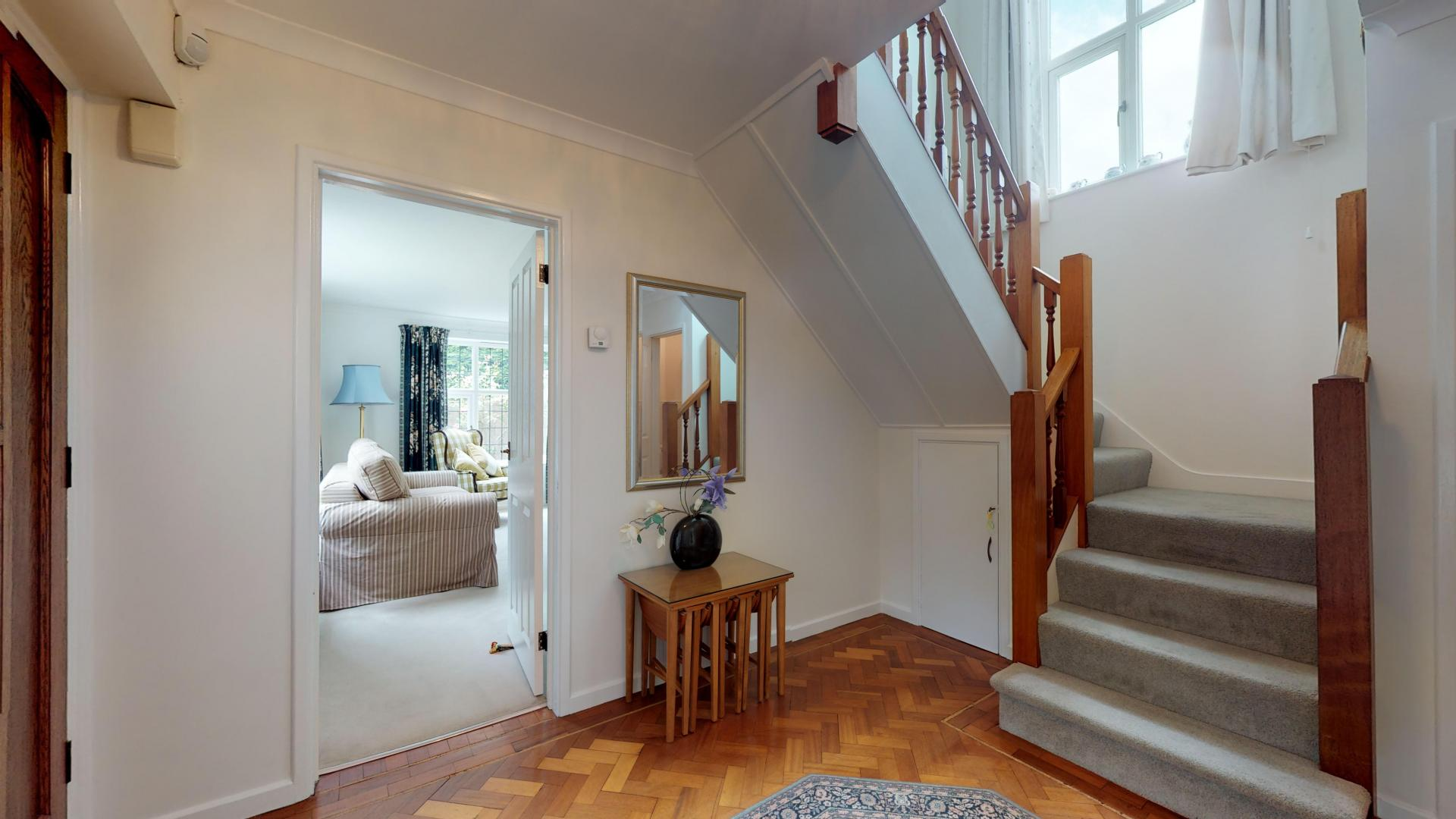 Stairs at Blenheim Gate House, Centre, Woodstock - Citybase Apartments