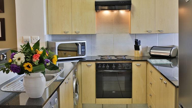 Spacious kitchen in Westpoint Executive Suites - Citybase Apartments