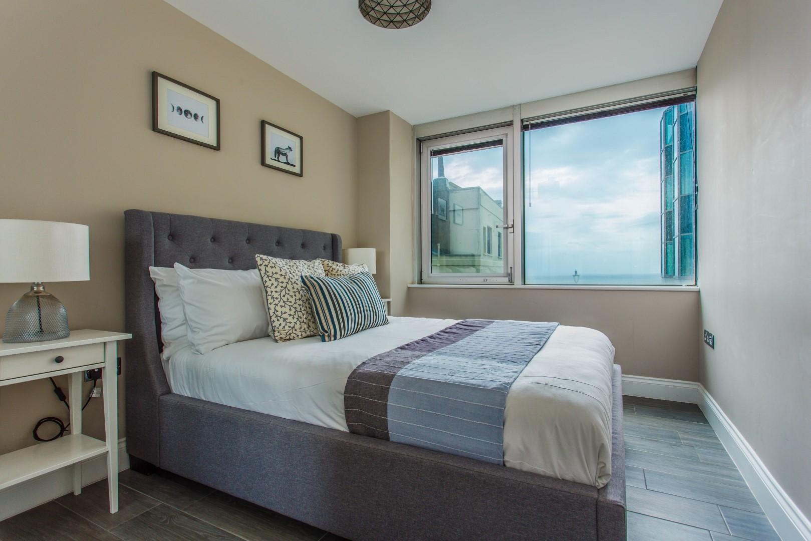 Bedroom at Brighton Lanes Apartments, Centre, Brighton - Citybase Apartments