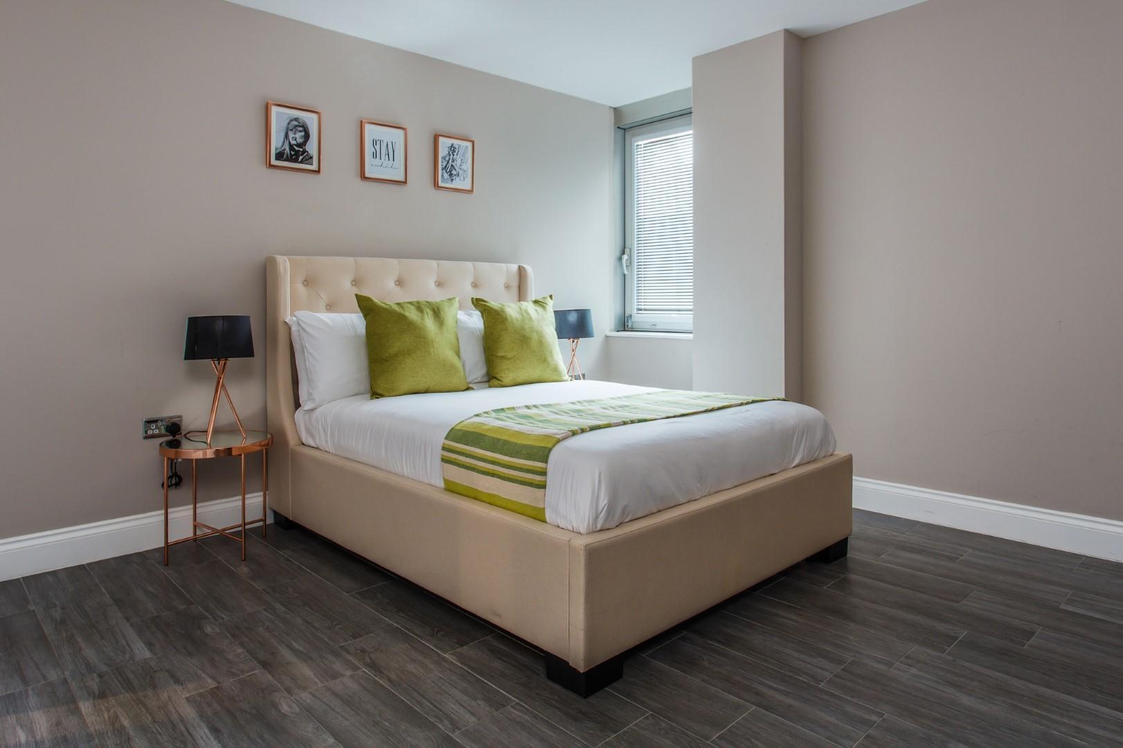 Bed at Brighton Lanes Apartments, Centre, Brighton - Citybase Apartments